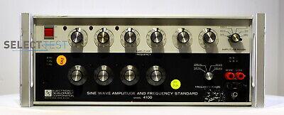 Edc 4100 Sine Wave Amplitude And Frequency Standard 100 Khz 100 V Ref220