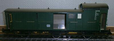 MÄRKLIN SPUR 1 5808 Gepäckwagen Pw3 in Grün der DB - mit Beleuchtung und OVP