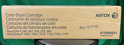 New Genuine Xerox Color Drum Unit 013r006003 For Dc 240 242 250 252 260 7655