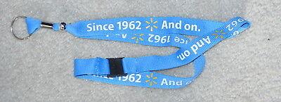 WAL-MART  LANYARD BREAKAWAY LIGHT BLUE COLOR