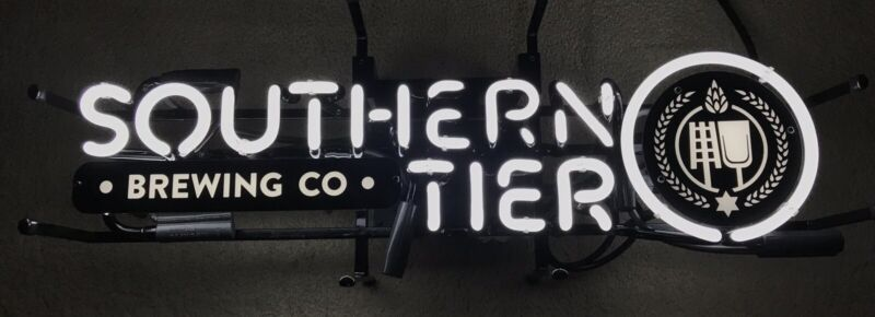 "Southern Tier Brewing Company Logo Neon Beer Sign 25x9"" Brand New In Box RARE!"
