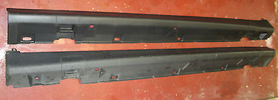 VAUXHALL CORSA C SIDE SKIRTS TRIM BLACK FITS 3 & 5 DOOR