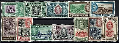 British Honduras - SSG# 150 - 161 - Mint Lightly Hinged - Lot 062616