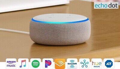 Amazon Echo Dot 3rd Generation w/ Alexa Voice Media Device Sandstone BRAND NEW!