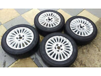RAPID - TYRE TIRES - 205 / 55 / R16 - P609 - 91V - USED (4x) (Ford Focus) N17