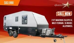 Goldstar 21FT Maverick(Sleeps 5) Multi-Terrain(Finance from $178 pw*) Old Reynella Morphett Vale Area Preview