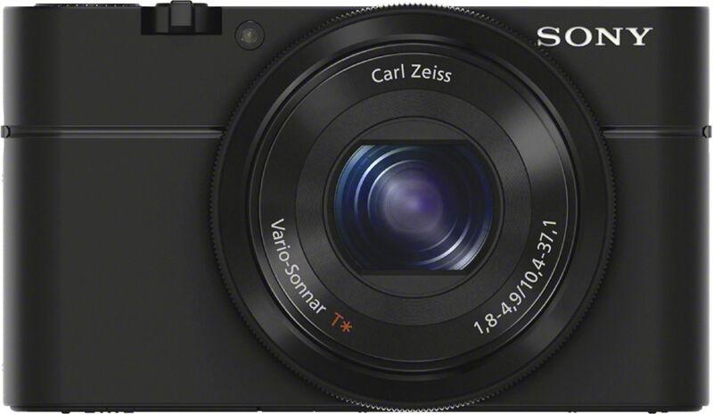 Sony Cyber-shot RX100 20.2-Megapixel Digital Camera Black DSCRX100/B