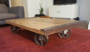 Large Industrial style Coffee Table Surry Hills Inner Sydney Preview