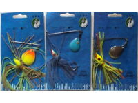 "Assorted #1 -Bass Fishing-/""NEW/"" 2 Sets of 5 Kicker Fish Tail Slapper Swimbaits"