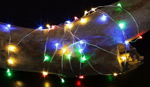 Outdoor Fairy String Lights Waterproof 10M 100 LED Copper Wi