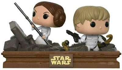 Funko Pop Vinyl 2 Pack Star Wars Movie Moments Luke and Leia Trash Compactor