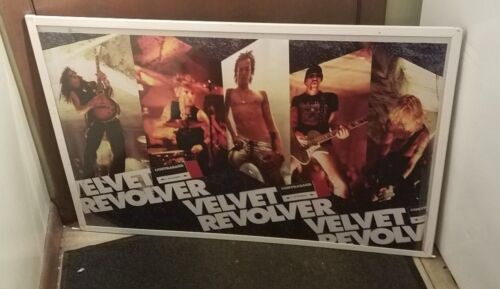 VELVET REVOLVER POSTER NEW 2004 RARE VINTAGE COLLECTIBLE OOP WEILAND  SLASH