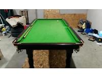 Snooker Pool table 8 x 4