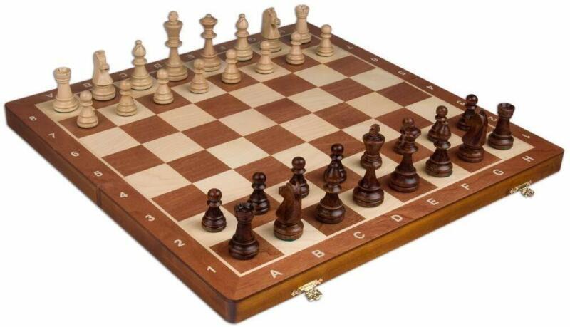 Wegiel Handmade European Professional Tournament Chess Set W