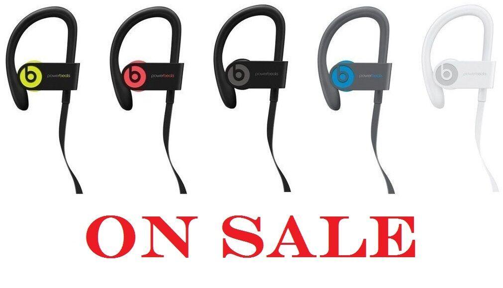 Beats By Dre - Beats by Dr. Dre Powerbeats 3 Wireless Bluetooth Headphones + Accessories