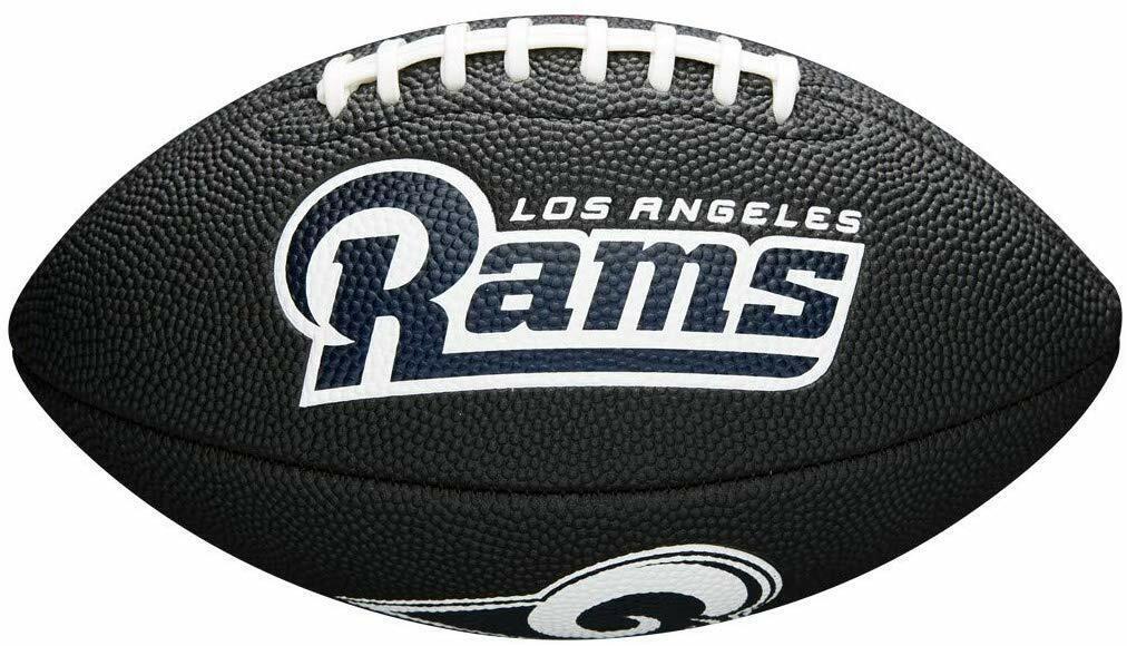 Wilson American Logo Football Los Angeles Rams NFL Mini Size Rubber Fan Ball