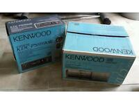 Kenwood cd headunit plus 10 disc changer