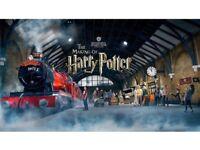 HARRY POTTER STUDIO TOUR LONDON WATFORD TICKETS 29th September