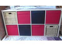 Ikea Unit with storage baskets