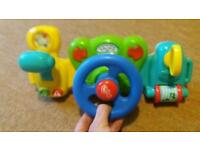 Driving toy for young children