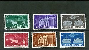 LUXEMBOURG-Sc-272-7-MI-478-83-VF-LH-330