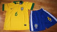 Jersey soccer (Chandail) avec Short BRESIL 2014 - MARCELO