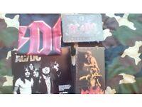Cds AC/DC ACDC RARE BOX SETS BOOK FLAG ROCK CDS METAL CDS