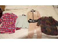 X7 items Bundle Girls Jacket, Rainsuit, Cardigan, Jumper, TED BAKER,NEXT,HATLEY,REGATTA,Sz 4-6 Years