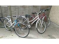 Hybrid bikes £85-105