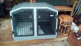 TransK9 crate model B25E. Safe transportation for your dog