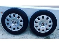 "Set of 16"" Golf TDI wheels"
