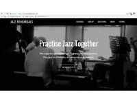 Play jazz in a group - workshops led by pro jazz tutors - piano, bass,drums,guitar,saxophone,trumpet