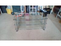 Glass t.v.stand