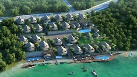 Waterfront Bungalow GBP 264,000 rental 7.5% per annum leaseback 10x10 yr & residency via investment