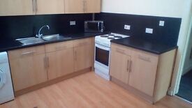 First floor part furnished newly decorated flat near to the center of town