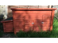 Sunnypet chicken house x 2. New (1 still boxed). Cost £120 each. Only £75 each or £120 for both.