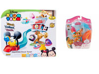 Brand New Disney Toys Gift Palace Pets Furry Tail Friends ,Tsum Tsum Squishies Clock Tower Set