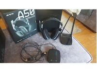 ASTRO A50 Headset PS4/XBOX/PC compatible. £125 quick sale no offers. collection only