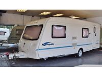 2004 BAILEY RANGER 550/6, 6 BERTH - FIXED BUNKS WITH AWNING + EXTRA ANNEX & MOTOR MOVER!