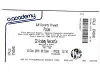 Ticket to see the Pixies this Saturday (3rd) in Newcastle.