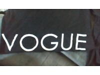 New Look VOGUE , long sleeve, crop sweater top size 6