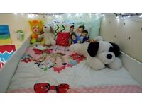 white cabin bed for child