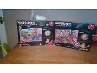Brand new pair of Wasgij puzzles