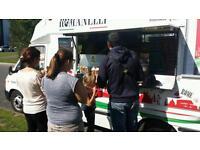 Italian catering van