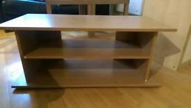 Side shelf oak effect coffee table furniture