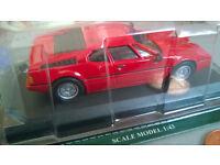 diecast BMW M1 car