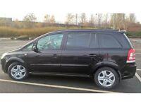Vauxhall Zafira 1.6 petrol Exclusive model