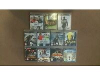PS3 Game Bundle 11 games perfect for Christmas gift Reduced