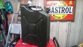 Petrol generator for sale with twenty litre petrol can . Only used twice
