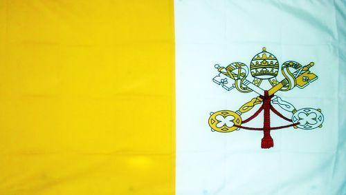 VATICAN CITY FLAG 5X3 ROMAN CATHOLIC ROME ITALY ITALIAN